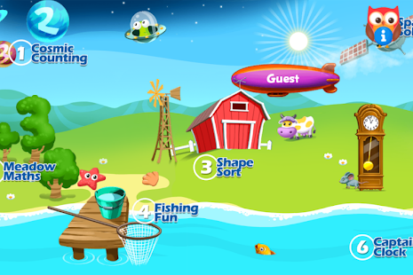 EduGuru Maths Kids 3–5 Free - screenshot