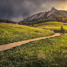 Boulder by Andy Taber - Landscapes Mountains & Hills