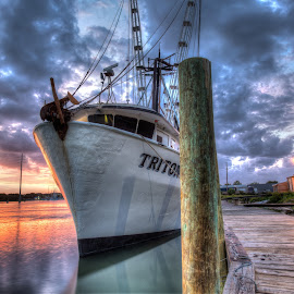 Triton by Jason Green - Transportation Boats