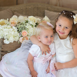 christening by Melissa Marie Gomersall - Babies & Children Child Portraits ( love, lowrs, white, flowers, christening )