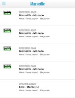 Screenshot of Foot Marseille