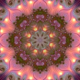 Fractal kaleidoscope, mandala 10 by Cassy 67 - Illustration Abstract & Patterns ( digital, love, harmony, surreal, abstract art, mandala, surrealism, abstract, jux, fractals, digital art, kaleider, modern, kaleidoscope, light, fractal, energy )