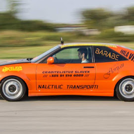 speed 402 race by Dominik Lalic - Sports & Fitness Motorsports ( car, orange, extreme, adventure, speed, racer, race, photography )