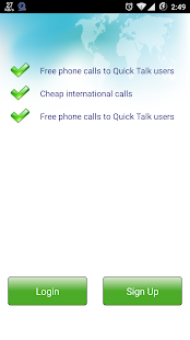 QuickTalk Dialer - screenshot