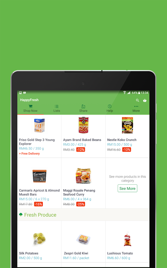 HappyFresh - Grocery Delivery Screenshot 6
