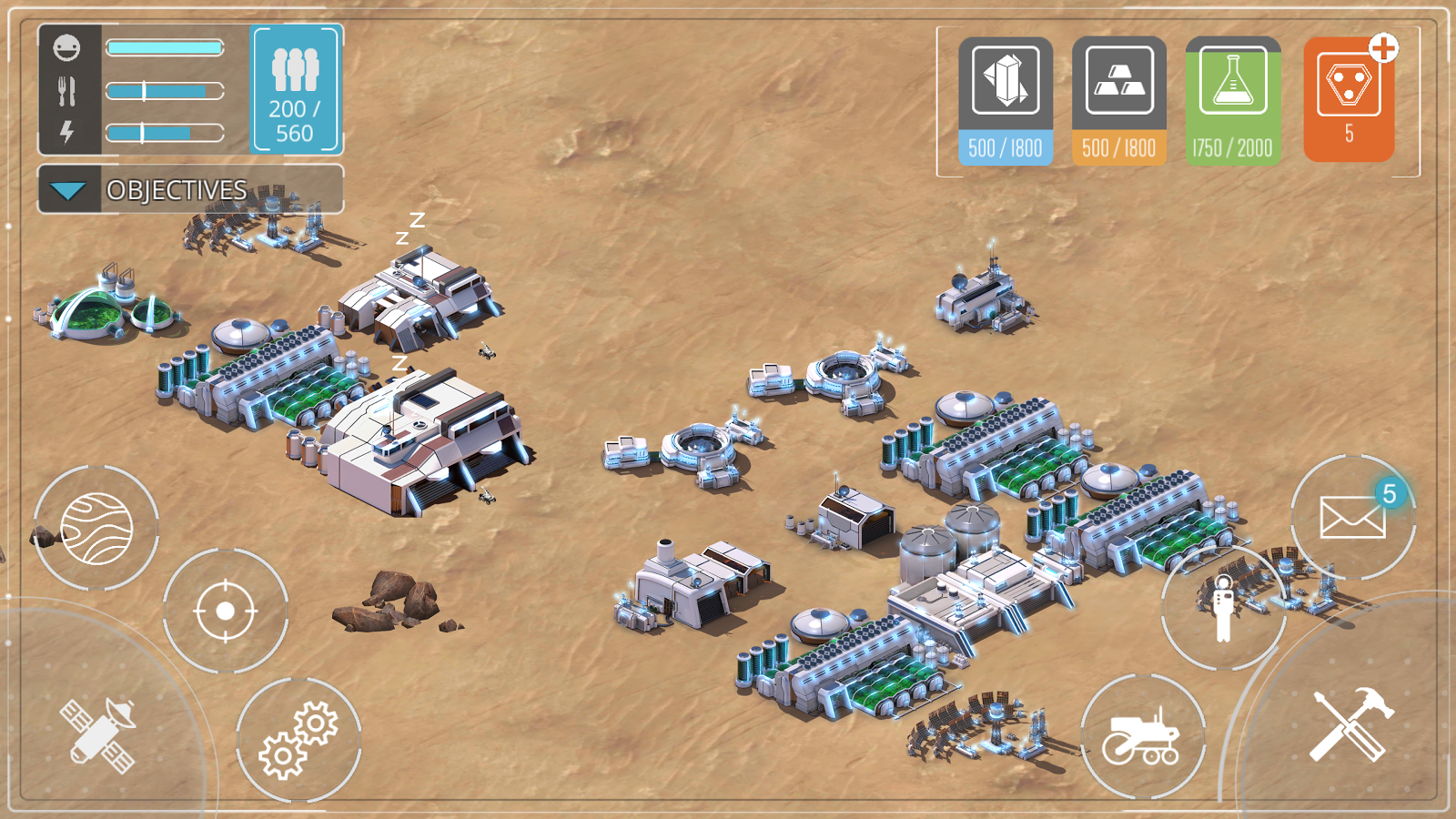 Dawn of Mars Screenshot 2