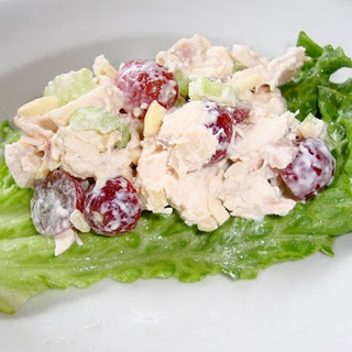 Chicken Salad Grapes Almonds Celery Recipes