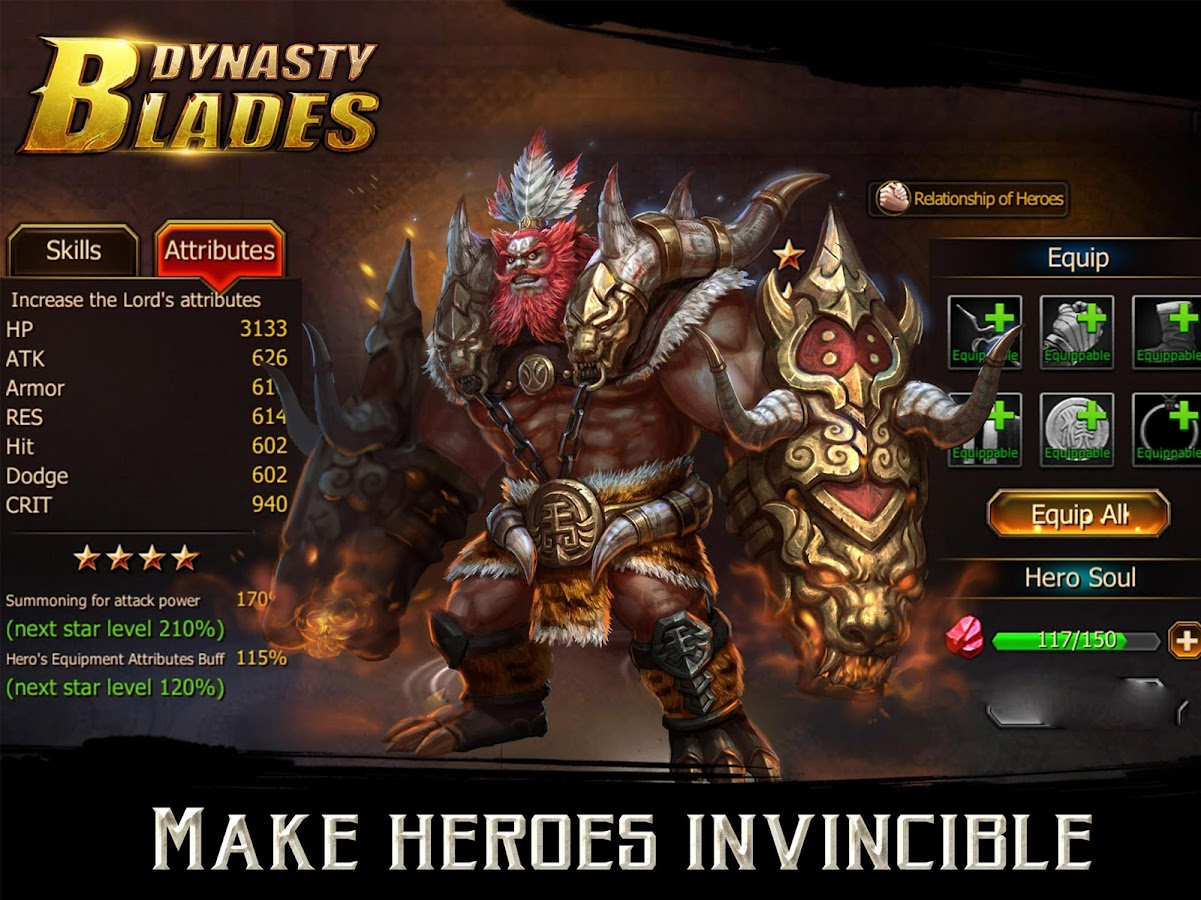 Dynasty Blades: Warriors MMO Screenshot 8