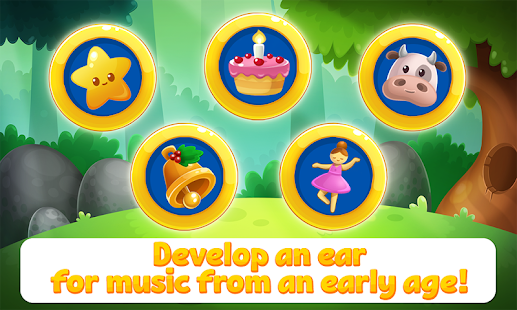 Learning Music Notes for Kids- screenshot