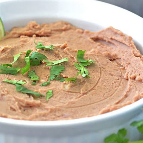 Slow Cooker Restaurant Style Refried Beans