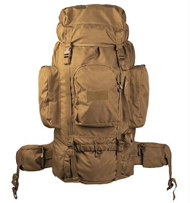 Рюкзак RECOM 88 л - Mil-TEC - койот