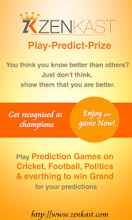 Zenkast: Prizes for Prediction - screenshot