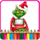 How To Color Grinch Stole Chrismas