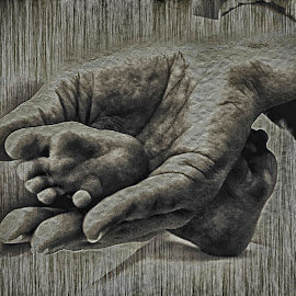 Riches by An Mark - Abstract Patterns ( structure, baby feet, hands, baby )