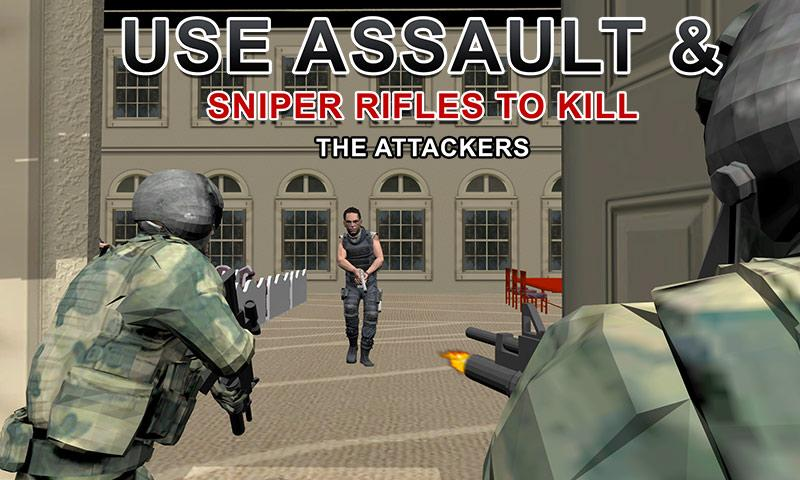 Army Shooter: President Rescue Screenshot 1