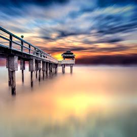 the anyer beach by Deny Prasetiyo - Landscapes Sunsets & Sunrises