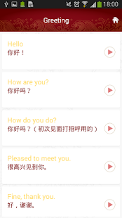 Chinese Phrasebook Lite - screenshot