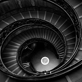 Stairs by Darius Apanavicius - Buildings & Architecture Other Interior ( interior, building, pwc82, b&w, black and white, pwc79, travel, circle, spiral, monotone, people, photography, portrait, curves, pwc74, city, landmark, stairs, shapes geometric patterns , , #GARYFONGDRAMATICLIGHT, #WTFBOBDAVIS )