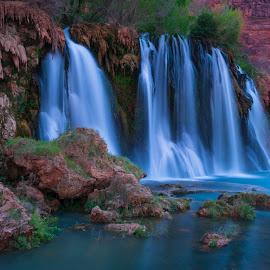 Navajo Falls  by Brock Slinger - Landscapes Waterscapes (  )