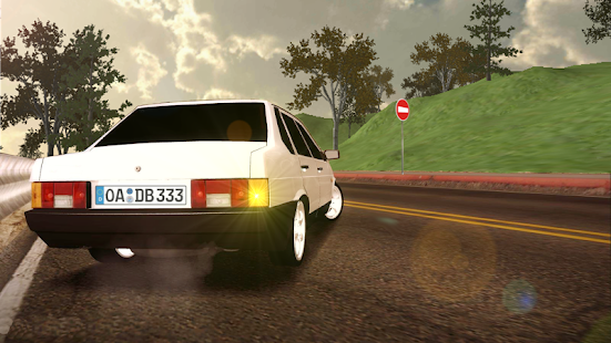 Game Russian Cars: 99 and 9 in City APK for Kindle