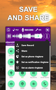 App Voice Changer Sound Effects APK for Kindle
