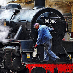 Nearly   ready by Gordon Simpson - Transportation Trains