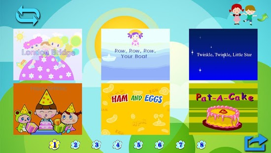 Animation songs for children B - screenshot