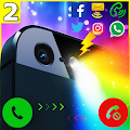 Download Color Flashlight Alerts: Call APK on PC