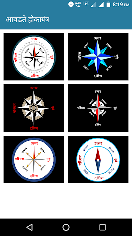 Marathi Compass l  मराठी होकायंत्र l दिशा दर्शक Screenshot