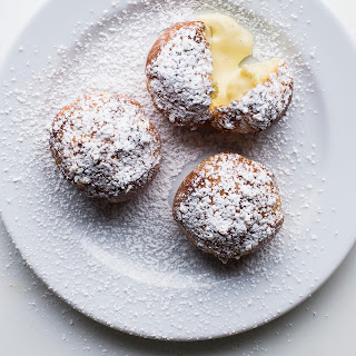 Cream Puffs with Vanilla Pastry Cream