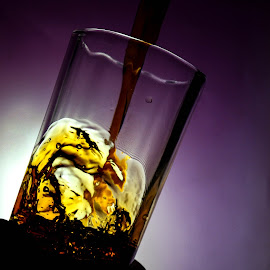 Splash by Shubham Shaswat - Food & Drink Alcohol & Drinks ( time warp, liquid, splash, freeze, drink, motion )