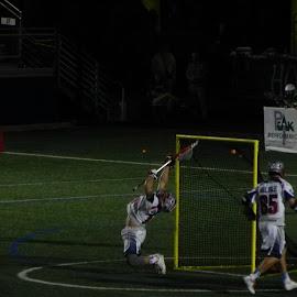 GOAL!!! by Kathryn Nagelberg - Sports & Fitness Lacrosse ( boston cannons, ny lizards, lacrosse )