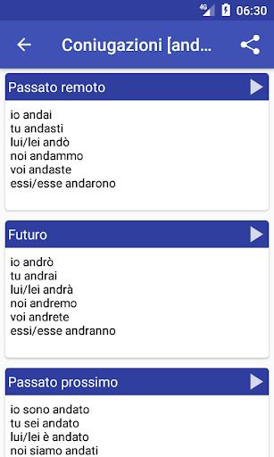 Italian Dictionary - Offline screenshot 3