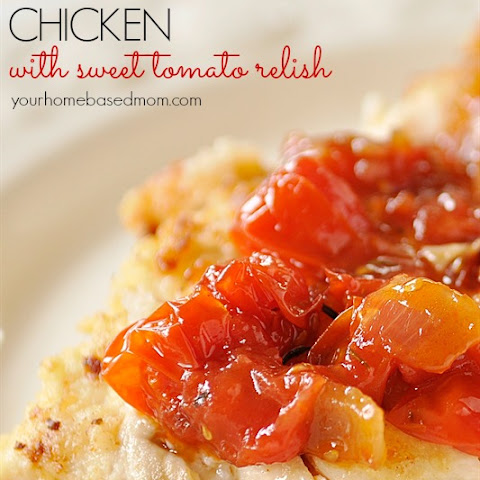 Buttermilk Chicken with Sweet Tomato Relish