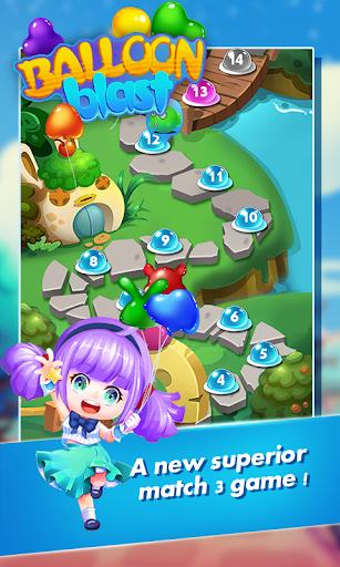 Balloon Blast New Puzzle - screenshot