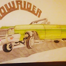 Chevrolet car by Reagan Muriuki - Drawing All Drawing