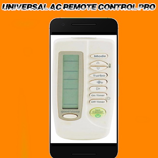Universal AC remote Control- screenshot