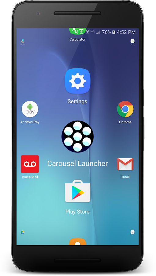 Carousel Launcher Screenshot 2