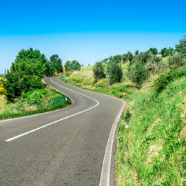 Roads in Tuscany by Deyan Georgiev - Landscapes Travel ( val, curve, countryside, tuscany, seasonal, europe, italian, farmland, farmhouse, house, road, travel, landscape, spring, farm, hillside, typical, sky, tree, nature, idyllic, cypress, italy, hill, toscana, grass, green, beautiful, agriculture, scenic, rural, country, field, florence, outdoor, meadow, scene, summer, scenery, view, tuscan )