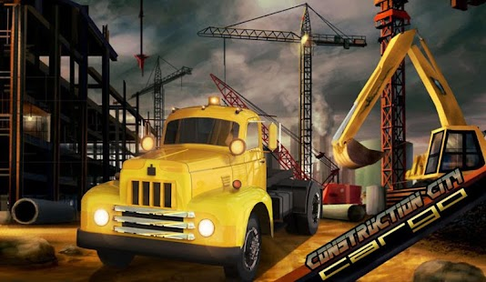 Construction City Cargo- screenshot