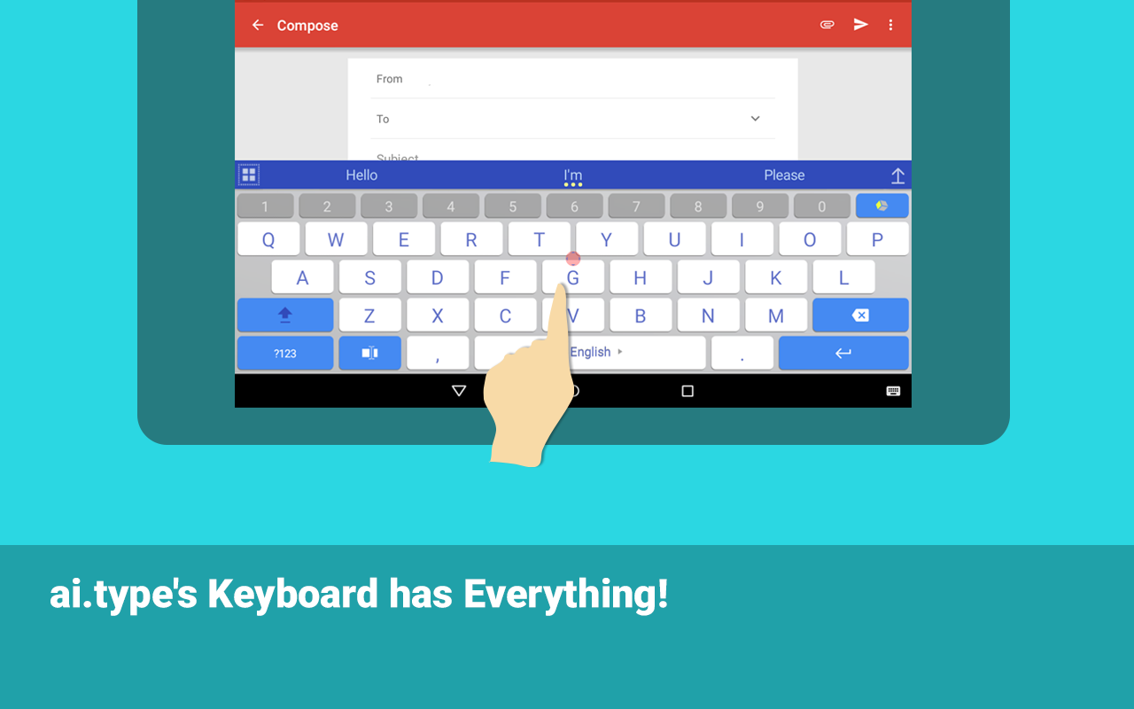 ai.type keyboard Pro + Emoji Screenshot 14