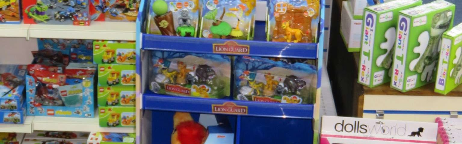 Lion Guard and other character toys