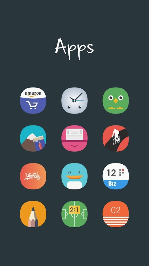 Aerus MultiLauncher Icon Theme Screenshot 2