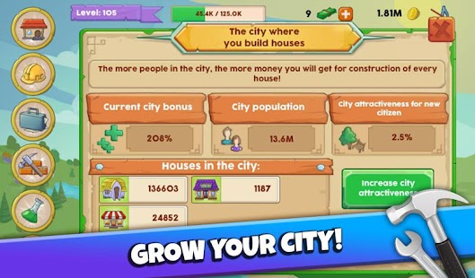 Make a City - Build Idle Game- screenshot thumbnail
