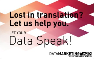 Data Is the Language of Modern Marketing, Toronto, Nov 28-29