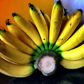 comb of bananas by Janette Ho - Food & Drink Fruits & Vegetables