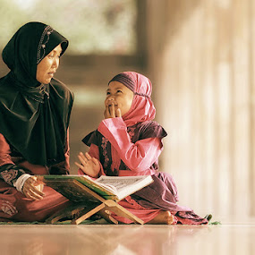 My Teacher, My Mother (2) by Lucky E. Santoso - People Family