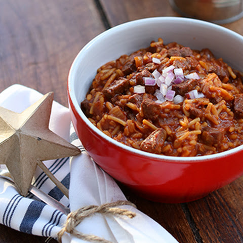 Texas-Style Chili & Rice