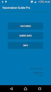 Vaccines Guide Pro screenshot for Android