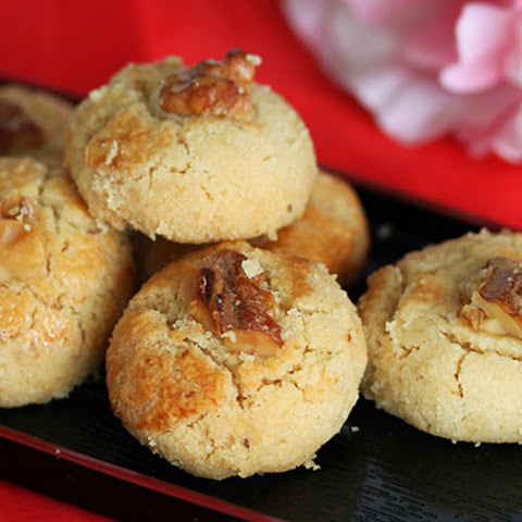 Chinese Walnut Cookies